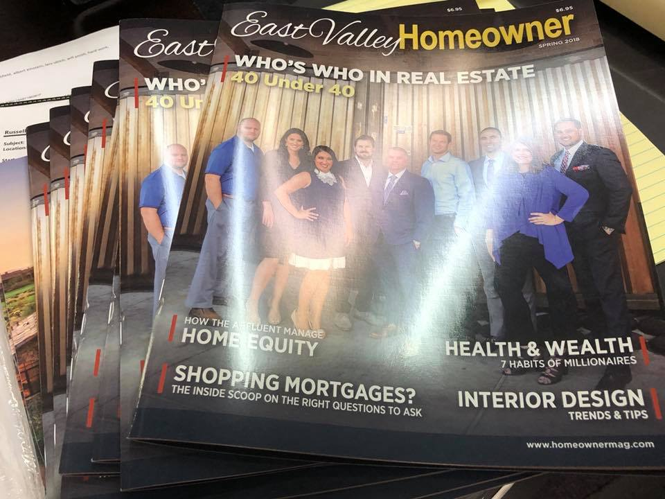 Hot Off the Press East Valley Homeowner Magazine
