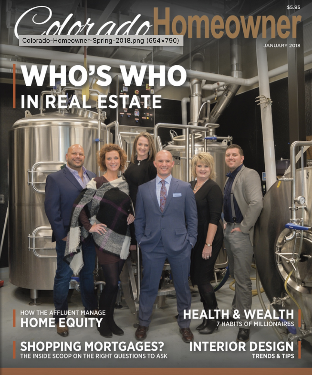 Colorado Homeowner Magazine: Who's Who in Real Estate